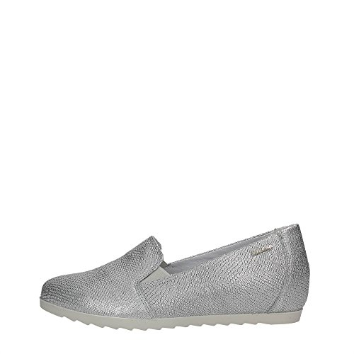 Enval Soft 79181 Slip On Donna Pelle ARGENTO ARGENTO 36