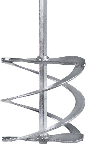 Mezclador de mortero (hélice helicoidal, punta hexagonal)