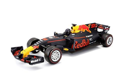 ferngesteuertes formel 1 auto Maisto Tech R/C Red Bull Racing Tag Heuer RB13: Ferngesteuertes Auto Max Verstappen 1: 24, Original Formel 1, 20 cm, schwarz (581219)