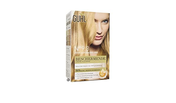 3x170ml - Guhl- Creme-Haarfarbe - Coloration - No.9.3 sehr helles ...