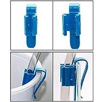 2 PCS/Pack Tubería De Agua Clip Fijo Soporte De Manguera Abrazadera De Barril Acuario Peces Suministros Accesorios De Filtración Piezas