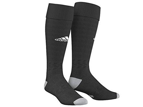 Adidas Milano 16 Calzettoni da Uomo, Nero/Bianco (Aj5904 Nero/Bianco), taglia 40-42