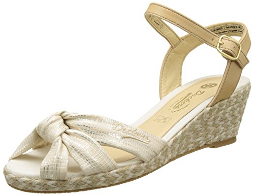 Dockers by Gerli Damen 36IS202-680920 Slingback, Gold (Gold 920), 39 EU