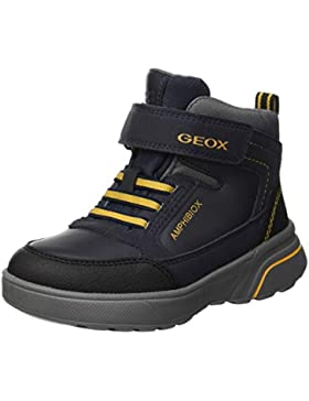 Geox J Sveggen Boy B ABX B, Botas Clasicas para Niños