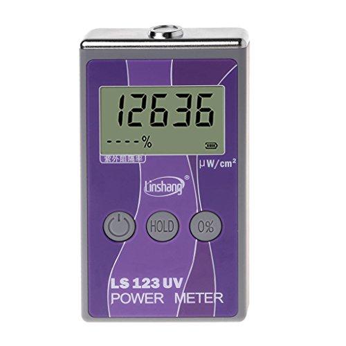 BIlinli LS123 UV-Leistungsmesser UV-Messgerät für ultraviolette Lichtdurchlässigkeit