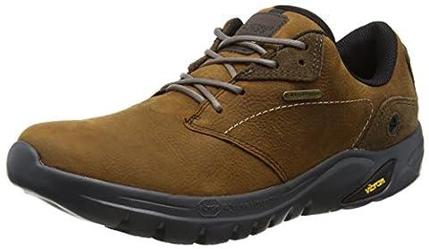 Hi-Tec Men's V-Lite Walk-Lite Witton Waterproof Walking Shoes - Brown