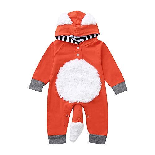 Beikoard_Babykleidung Neugeborenes 2Pcs Neugeborene Kleidung Set Baby Junge Mädchen Kleider Set Lange Hülse Kapuzenpullover Gestreift Tops Hose Warm ()