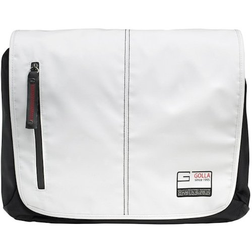 Golla Laptop Bag Street Style - ACE - 16 Zoll - Weiß G1436 Tasche für Notebooks bis 16 Zoll