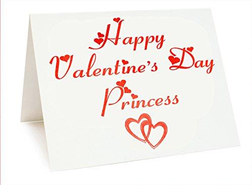 Gebraucht, Valentines Folie Karte-Happy Valentine 's Day Prinzessin gebraucht kaufen  Wird an jeden Ort in Deutschland