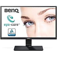 BenQ GW2470ML 60,45 cm (23,8 Zoll) LED Monitor (VA Panel, D-Sub, HDMI, 4ms Reaktionszeit, Low Blue Light Plus, Lautsprecher) schwarz