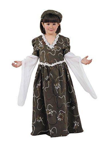 Imagen de disfraz de dulcinea niña  único, 7 a 9 años