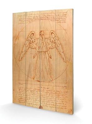 Dr Who Weeping Angel Petite décoration murale en bois