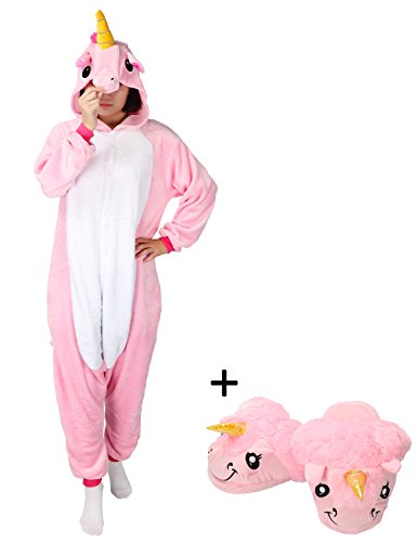 (Très Chic Mailanda Karneval Halloween Pyjamas Schlafanzug mit Kapuze Erwachsene Cosplay Kostüm)