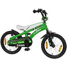 Bachtenkirch-Bicicletta da bambino, 16pollici daxie verde/bianco