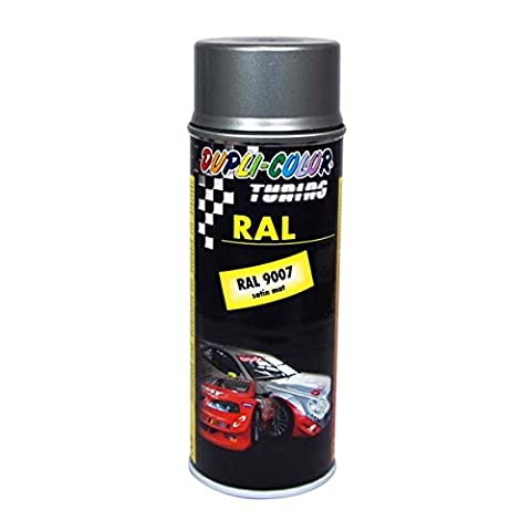 Dupli-Color 238284 DC Tuning Spray Paint RAL 9007, 400 ml, Seidenmatt