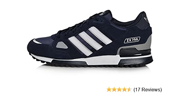 23a291d03ed0 Adidas Originals Men s ZX 750 Navy Running Retro Casual Shoes Trainers (UK  11)  Amazon.co.uk  Shoes   Bags