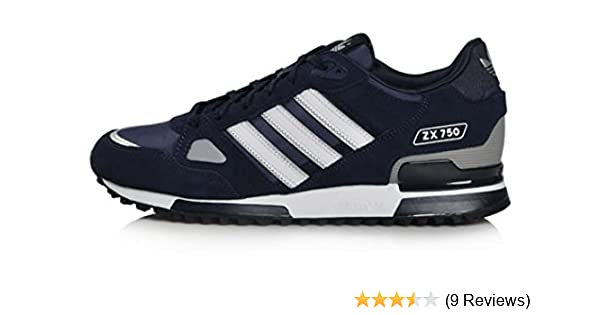 29d387b70 Adidas Originals Men s ZX 750 Navy Running Retro Casual Shoes Trainers (UK  8)  Amazon.co.uk  Shoes   Bags