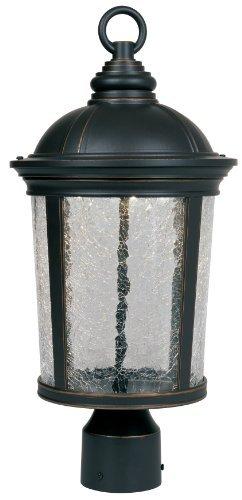 Designers Fountain LED21346-ABP Winston Post Lanterns, Aged Bronze Patina by Designers Fountain (Designer Winston)