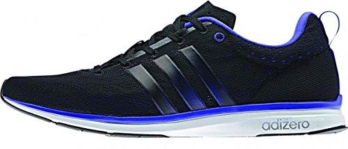 Adidas Performance Adizero Feather 4, Chaussures de Running Homme Black
