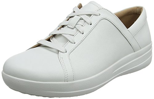 8574362a13e48 Fitflop F-Sporty TM II Lace Up Sneakers, Zapatillas para Mujer, Bianco (
