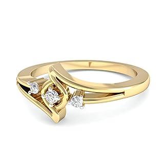 PC Jeweller The Aurela 18KT Yellow Gold & Diamond Rings