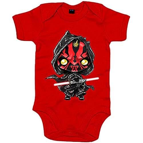star wars kawaii Body bebé Star Wars Darth Maul Kawaii