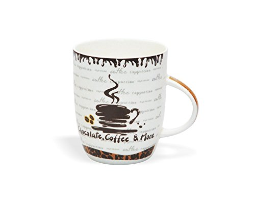 Clay Craft Orchid 359 Bone China Milk Mug, 350ml/5.7cm, Multicolour