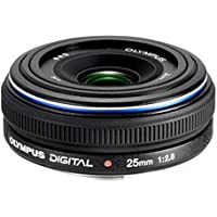 Olympus Zuiko Digital 25mm 1:2,8 Pancake Objektiv (Four Thirds, 43 mm Filtergewinde)