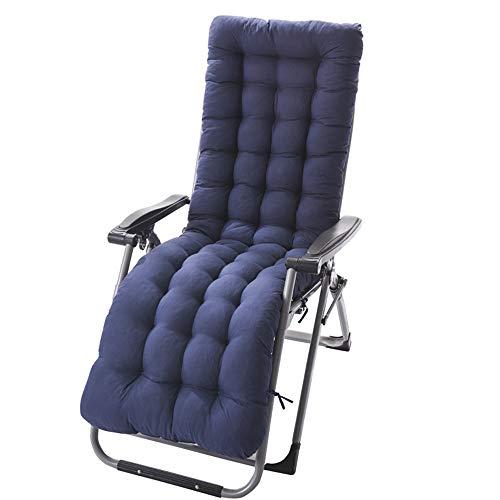 WM&LJP Patio Chaise Lounge, Cojín para La Gravedad Cero, Interior/Exterior Chaise Lounge, Cojines Silla De Oscilación del Amortiguador del Sofá...