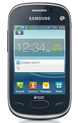 Samsung Rex 70 S3802R Mobile Phone (Blue)