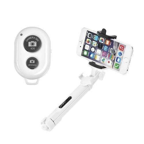 OZZZO Bastoni Selfie treppiede Bluetooth Bianco per LG g4