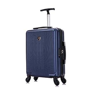 Toctoto Equipaje De Mano Expandible con Bloqueo TSA (20″ 41LT 55x35x20cm), Adecuado para Vuelos De Bajo Costo Ryanair, Vueling, Wizz Air(20″ (55cm-41L) -Fucsia)
