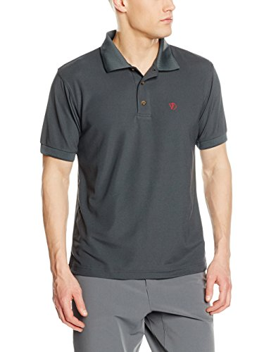 Fjällräven Herren Crowley Pique Poloshirt, Mountain Grey, L