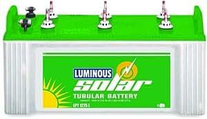 Luminous Solar 75Ah Tubular Battery(White & Green)
