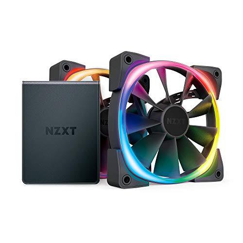 Aer RGB 2 120mm Gehäuselüfter Twinpack mit HUE 2 Schwarz