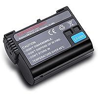 Expresstech @ Sostituzione Batteria EN-EL15 ENEL15 EN EL15 1900mAh per Nikon D500 D600 D610 D750 D800 D800E D810 D810A D7000 D7100 D7200 NIKON 1 V1