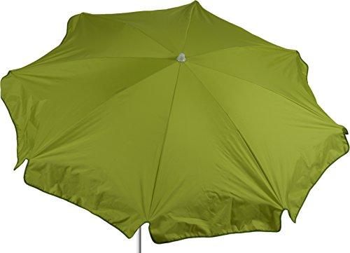 beo Sonnenschirme wasserabweisender, rund, Durchmesser 180 cm, hellgrün