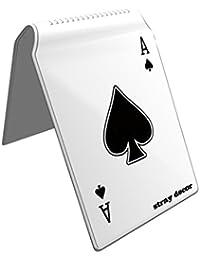 Stray Decor (Ace of Spades) Étui à Cartes / Porte-Cartes pour Titres de Transport, Passe d'autobus, Cartes de Crédit, Navigo Pass, Passe Navigo et Moneo