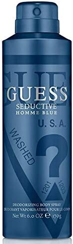GUESS Seductive Blue Body Spray for Men, 170 g / 226 ml