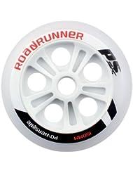 Powerslide Rollen Pu Wheel Roadrunner, Weiß, 150mm, 900670