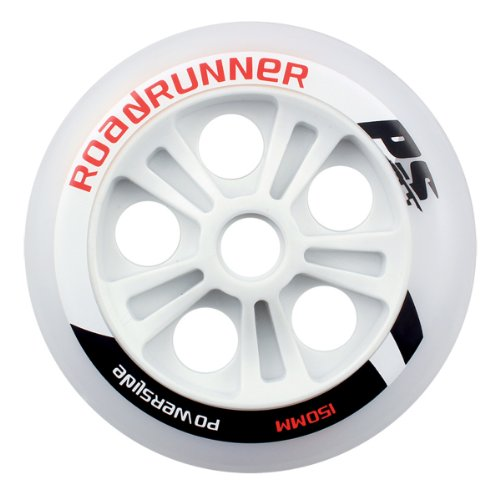 powerslide-roadrunner-900670-rueda-para-patines-nordicos-poliuretano-color-blanco