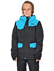 Völkl Performance Wear Logo chaqueta de esquí para niño, otoño/invierno, infantil, color Negro - Black Knight, tamaño 12 años (152 cm)