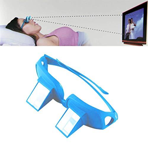 Iahshion Prismenbrille zum Lesen im Bett, Horizontale Brille, Universal, zum Lesen/Fernsehen