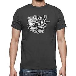 Camiseta de Hombre Mazinger Z Negra (Varios Colores)