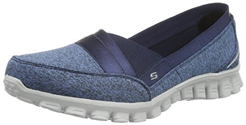 SkechersEZ Flex 2 Fascination - Ballerine Donna , Blu (Blu (Navy)), 39