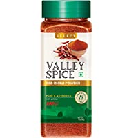 Valley Spice Red Chilli Powder - Hot & Bold - Select 100g