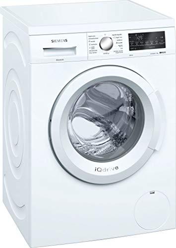 siemens iq500 wu12q468es independiente carga frontal 8kg 1200rpm a+++ blanco - lavadora (independiente, carga frontal, blanco, giratorio, tocar, izquierda, led)