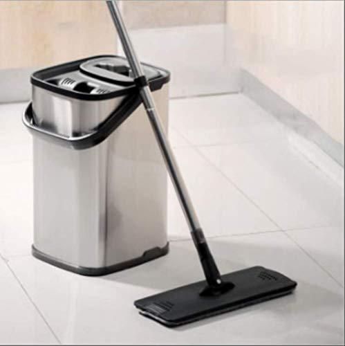 SADDPA Masthome Mop, mit Eimer Wasser Wischmopp Mit Mop-Eimer auspressen Doppelmopp für den Haushalt Geeignet