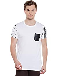 Wear Your Mind White Cotton T-Shirt For Men TSS286.1_S