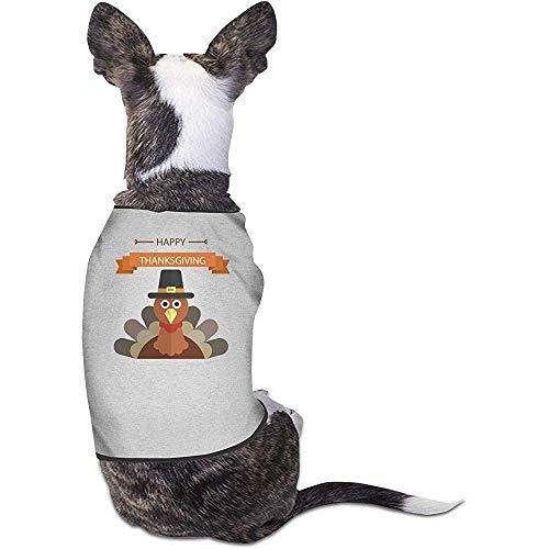 Kostüm Hunde Thanksgiving Katze - Frederih Hündchen Hemden Kostüm Thanksgiving Haustiere Bekleidung Warme Weste T-Shirt S